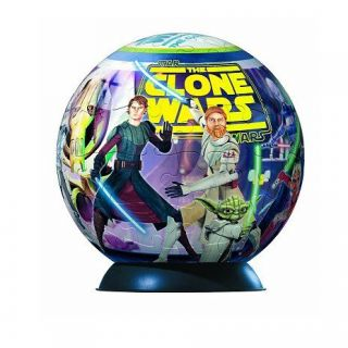 Puzzle ball   96 pièces   Star Wars  Clone Wars   Achat / Vente