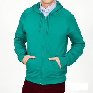 American Apparel Mens California Fleece Zip Hoody