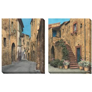 Deborah Dupont Via Todi Oversized Canvas Art Set