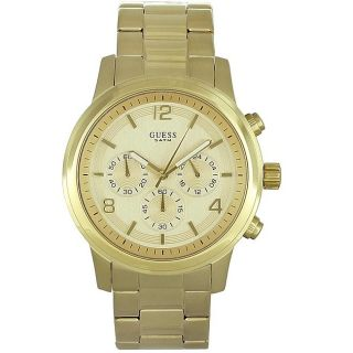Guess Mens Stainless Steel Chronograph Watch