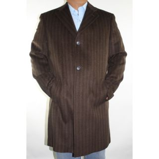 Ferrecci Mens Brown Wool blend Coat Today $94.99 5.0 (1 reviews)