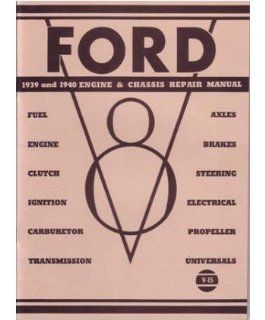 1939 1940 FORD MERCURY Shop Service Repair Manual Book