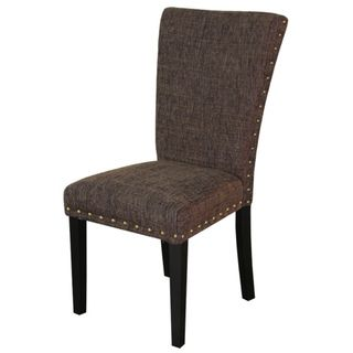 Monsoon Adorno Upholstered Berry Patch Linen Dining Chairs (Set of 2