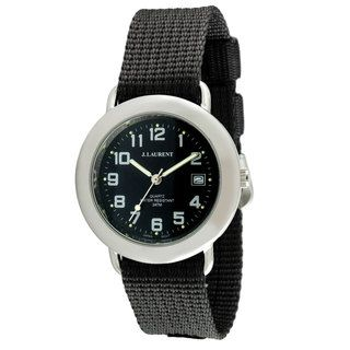 Jacques Laurent Mens Interchangeable Strap Watch Set