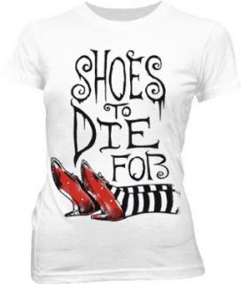 Shoes To Die For   Wizard Of Oz Sheer Womens T shirt