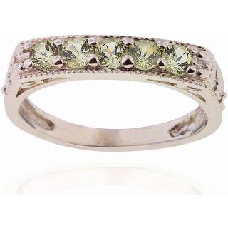 Michael Valitutti 14k Gold Tashmarine and Diamond Ring
