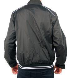191 Unlimited Mens Black Baseball Jacket