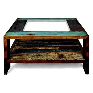 Ecologica Furniture Glass Coffee Table