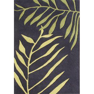 Sabrina 100% Hand Made Tender Green New Zealand Wool Rug (8 x 10