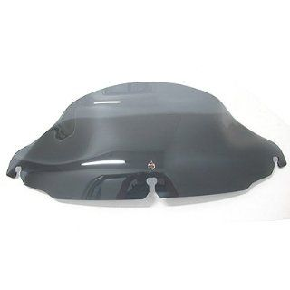 Klock Werks KW05 01 0189 8 Dark Smoke Windshield for Harley Davidson