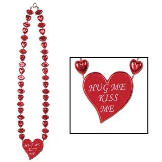 Valentine Heart Necklace Case Pack 156 Everything Else