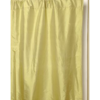 Parsnip Green/Blue 100 percent Silk Taffeta Curtain (India