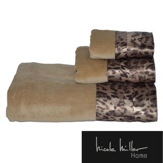 Nicole Miller Wild at Heart 3 piece Cotton Towel Set
