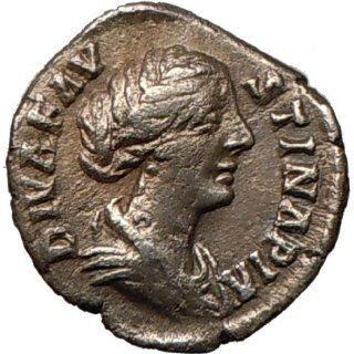 FAUSTINA II Marcus Aurelius Posthumous Rare Ancient Silver