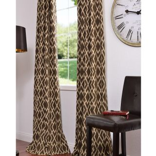 Ethiopia Printed Cotton 96 inch Curtain Panel