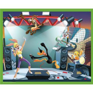 100 pcs   Achat / Vente PUZZLE Puzzle Looney Tunes 100 Rockn