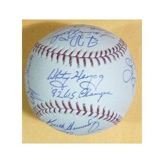 1982 St Louis Cardinals Autographed Team Signed OML
