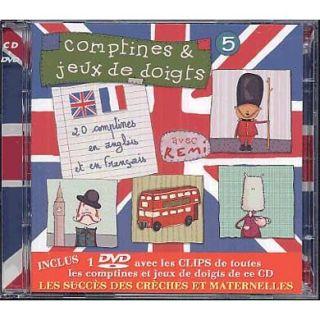 Titre  Comptines et jeux de doigts Vol. 5   Groupe interprète