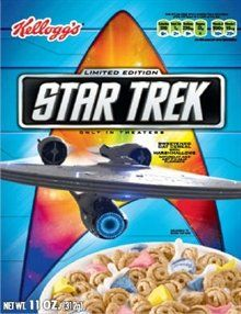 Kelloggs Limited Edition Star Trek Sweetened Oat Cereal 11 oz