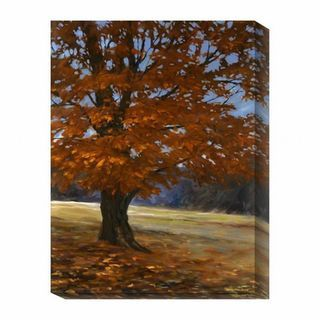 Bruce Braithwaite Fall Maple Canvas Art