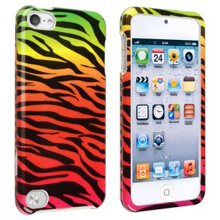 BasAcc Colorful Zebra Snap on Case for Apple iPod Touch 5th Generation