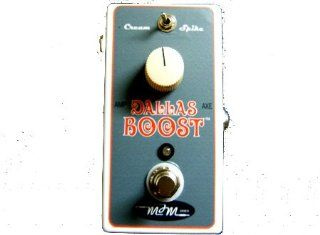 MJM Dallas Boost Treble Booster Pedal Musical Instruments