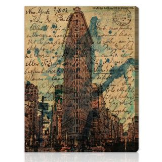 Oliver Gal Artist Co. Flat Iron Gallery wrapped Canvas Art Today $