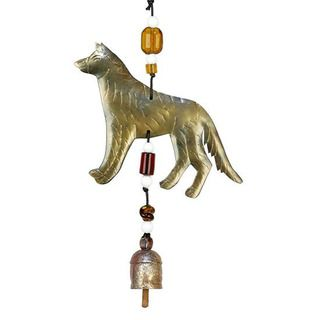 German Shepherd Wind Chime (India)