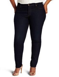 James Jeans Womens Plus Size Twiggy Z Skinny Leg Wash
