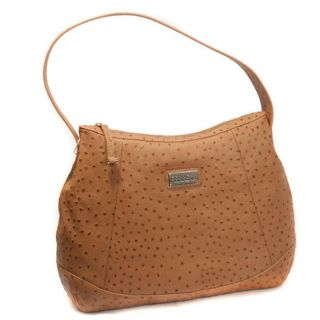 Gianfranco Ferre 67TXFB32 Embossed Leather Hobo Bag
