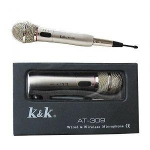 Microphone K&K AT 309 avec ou sans fil   Micro K & K AT 309 avec ou