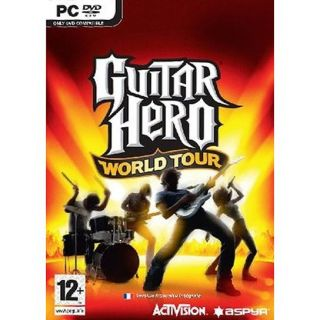 GUITAR HERO WORLD TOUR / JEU PC DVD ROM   Achat / Vente PC GUITAR HERO