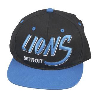 Detroit Lions Retro NFL Snapback Hat
