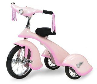 Morgan Cycle Pink Fairy Retro Tricycle Toys & Games