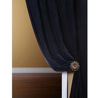 Signature Royal Blue Velvet 108 inch Curtain Panel