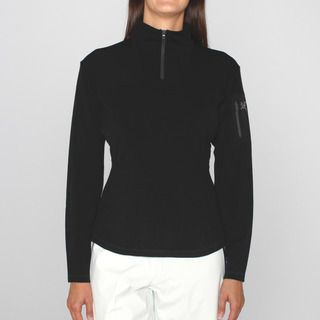 Arcteryx Womens Rho Black Zip Neck Ski Jacket