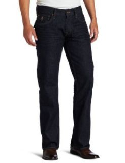 True Religion Mens Ricky Snake Eyes Straight Jean, Blue