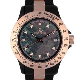 Toy Watch Heavy Metal Plasteramic   Black and Pink Gold Womens watch