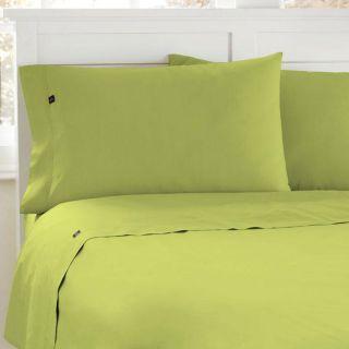 Steve Madden Light Green 200 Thread Count Twin XL size Sheet Set