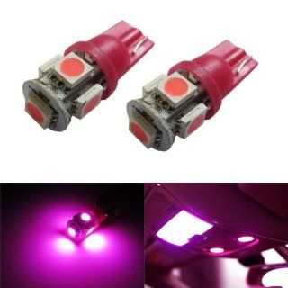 iJDMTOY 5 SMD 168 194 2825 T10 LED Car Interior Map Dome Light Bulbs
