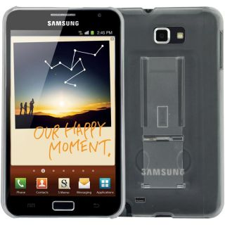 SKQUE Samsung Galaxy Note Clear Case with Stand