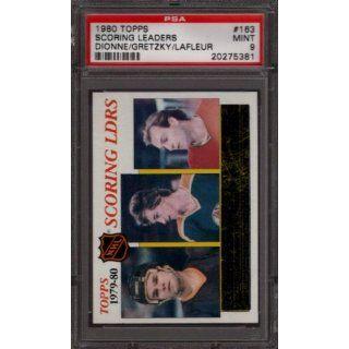 1980 TOPPS #163 MARCEL DIONNE WAYNE GRETZKY GUY LAFLEUR