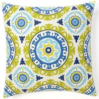 Pillows Suzani Henna Blue Decorative Pillow Today $109.99