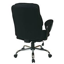 Office Star Executive Big Mans Chair with Mesh Seat and Back
