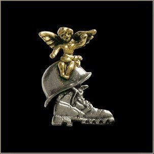 Military Guardian Angel Pin    Automotive