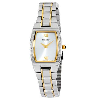Seiko Womens Two tone Diamond Watch
