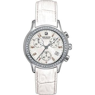 Swiss Military Geneva Womens Chronograph Watch Model # 06 6002 04 001