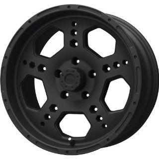 Liquid Metal Gatlin Series Matte Black Wheel (18x9/8x165.1mm
