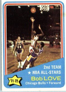 1972 73 Topps Basketball #166 Bob Love All Star Chicago