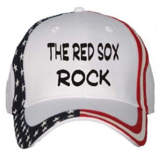 the Red Sox Rock USA Flag Hat / Baseball Cap Clothing